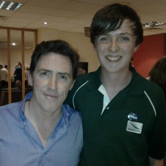 Wrap party for 'The Rob Brydon Show'