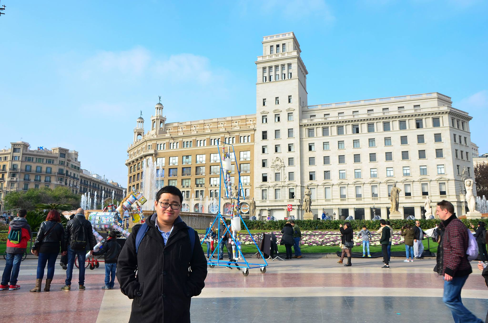 Willyanto, Andre - Travelling in Barcelona
