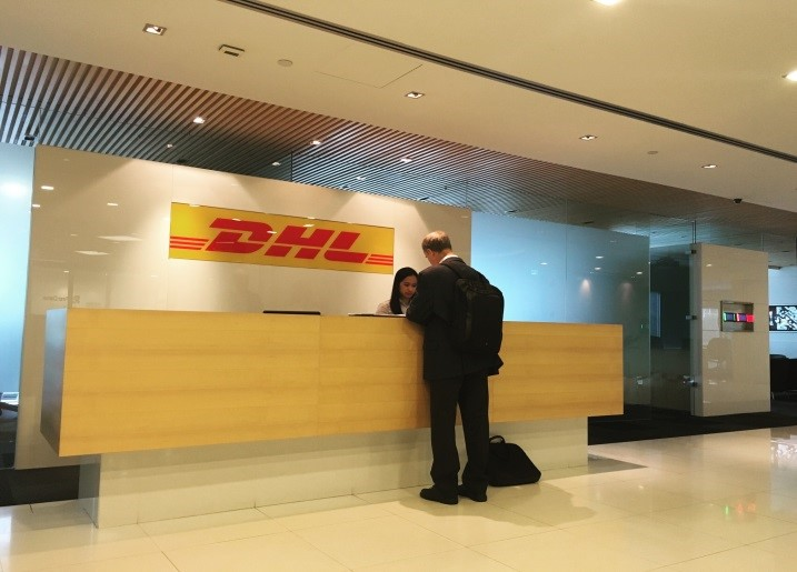A tour of Asia with DHL Singapore China Hong Kong